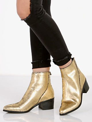 Dolce Vita Cassius Glitter Boot Gold Leather