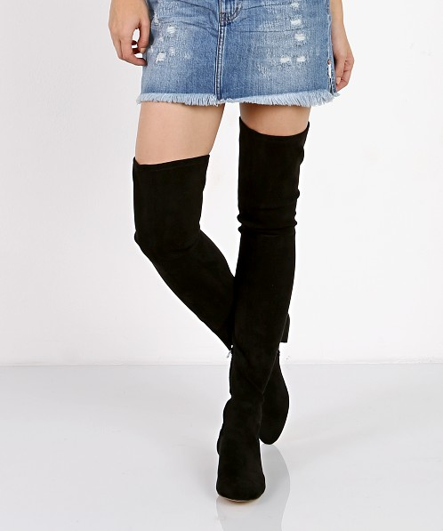 Dolce Vita Jimmy Boot Black Stella Suede