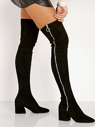 Dolce Vita Vix Knee High Boot Black Suede