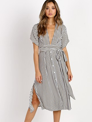 Faithfull the Brand Mustang Midi Dress Georgia Stripe