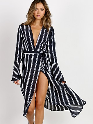 Faithfull the Brand Carioca Wrap Maxi St Vincent Stripe
