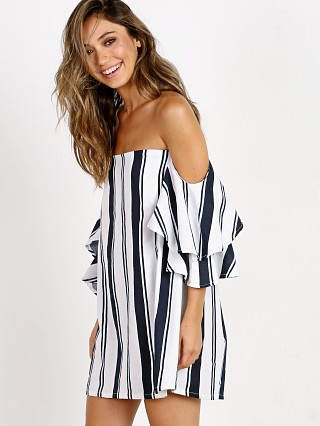 Faithfull the Brand Gran Folies Dress Estrella Stripe Print