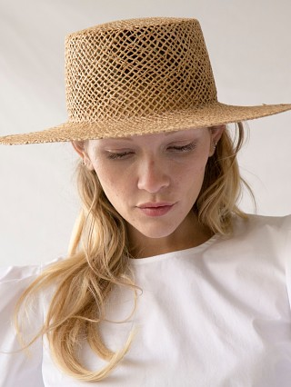 KIN Tawnie Natural Straw Hat