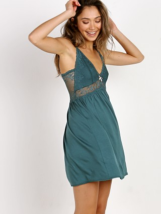 Complete the look: Eberjey Colette Chemise Evergreen