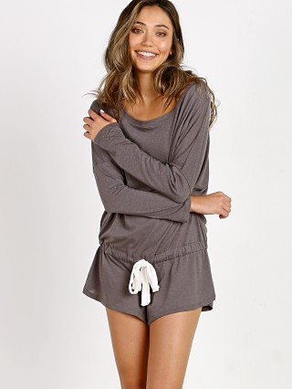 Eberjey Heather Teddy Light Charcoal