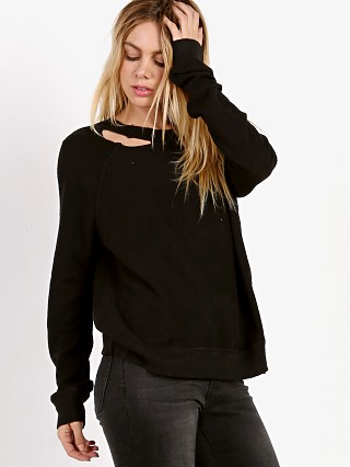n: PHILANTHROPY Holden Reverse Sweatshirt Black Cat