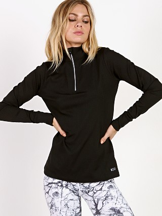 Complete the look: Splits59 Active Pace Half Zip Pullover Black