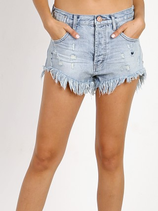 Complete the look: One Teaspoon Le Wolves Sunbleach Denim Short