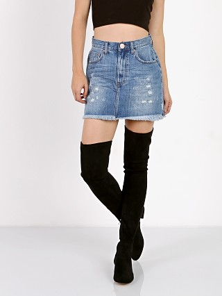 One Teaspoon 2020 Mini Skirt Pacifica Denim Skirt