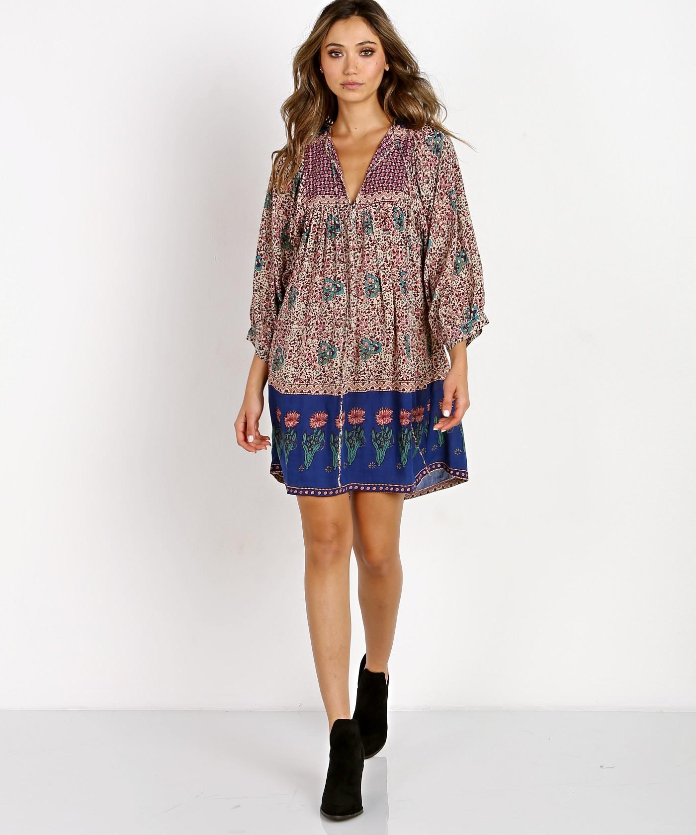 34844bf54ee12 Floral Print Dress: Buy Floral Dresses For Women Online .