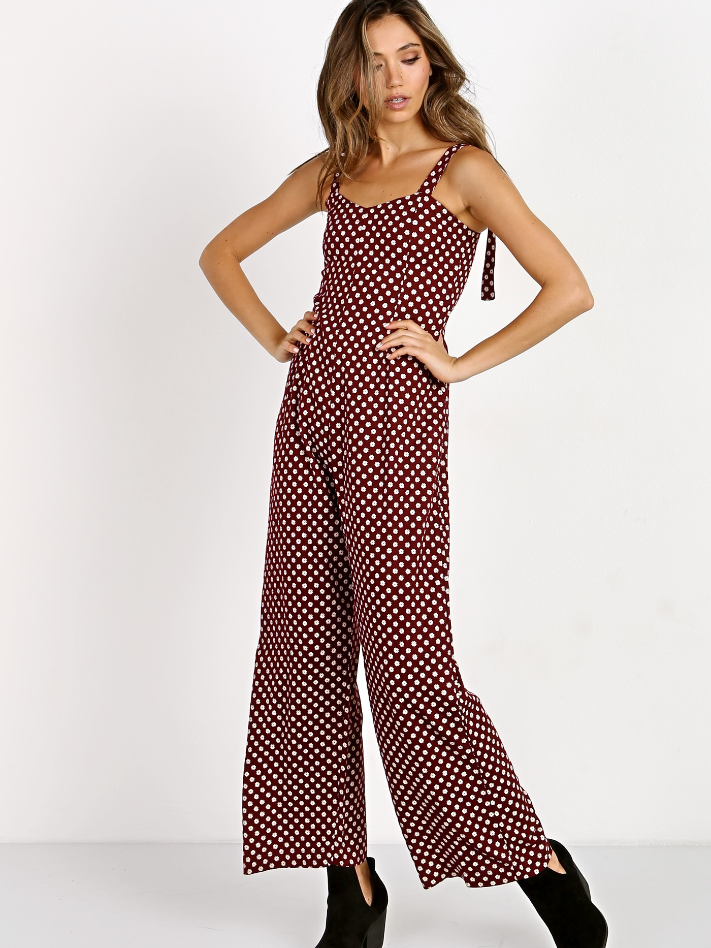 Angelina Jumpsuit in Green. - size M (also in L,S,XS) Cleobella
