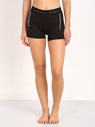 Complete the look: Koral Emblem Mid Rise Short Black