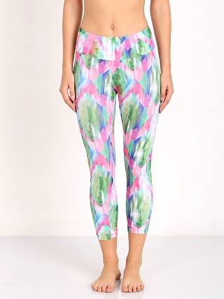 Onzie Capri Pant Diamond Palm