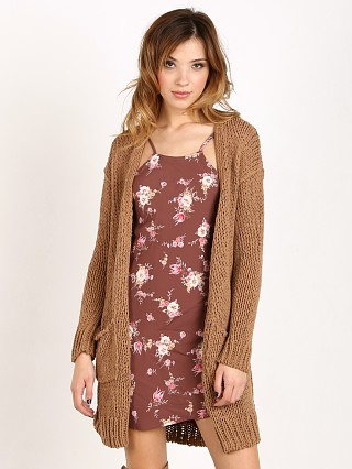 Free People Simply Sienna Cardi Acorn
