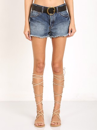 Free People Rock Denim Uptown Short Harbor