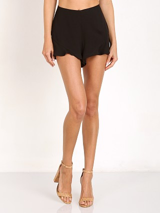 Free People Fiona Solid Flutter Short Black