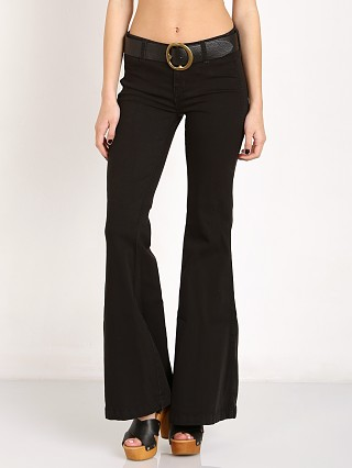 Free People Jolene Clean Denim Flare Black