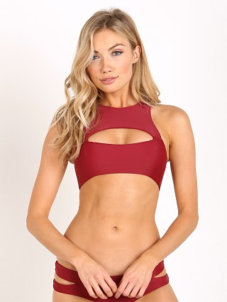 Mikoh Marakesh Bikini Top Pomegranate