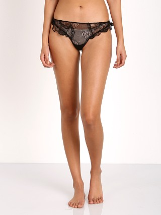 Complete the look: Eberjey Agatha Thong Black