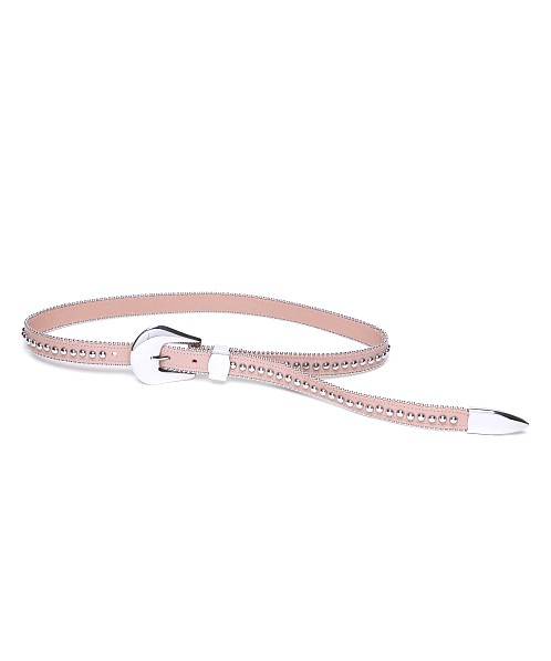B-Low The Belt Barcelona Waist Belt Almond Silver