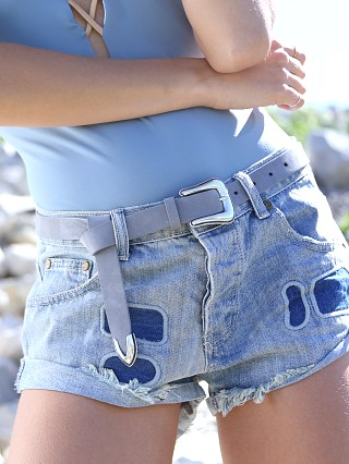 You may also like: B-Low The Belt Taos Mini Nubuck Waist Belt Fog/Silver