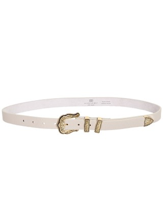 Model in bone/gold B-Low The Belt Baby Dakota Hip Belt