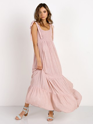 You may also like: Indah Doe Smocked Tank Maxi Dress Rose Blur