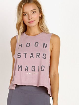 Spiritual Gangster Moon Stars Magic Crop Tank