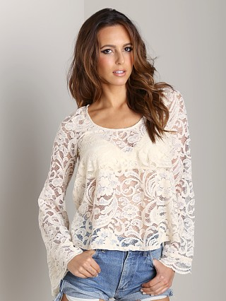 Complete the look: Show Me Your Mumu Flora Fan Top Iola Lace Natural