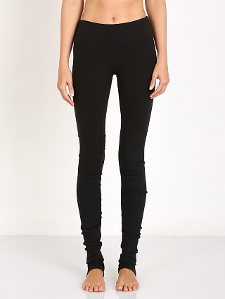 alo Goddess Ribbed Legging Black