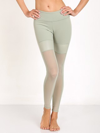 alo Lean Legging Sea Mist Glossy