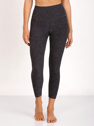 Beyond Yoga High Waist Capri Spacedye Legging Black/Steel