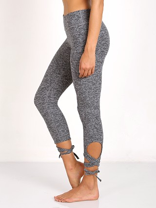 Beyond Yoga Spacedye Wrap Tie Legging Black/White