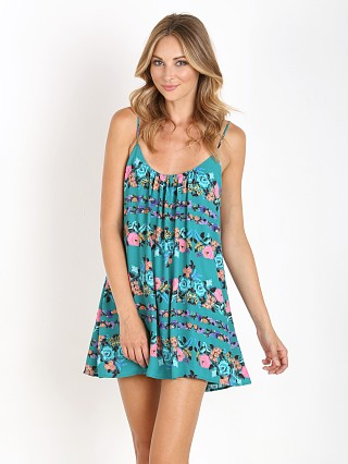 Show Me Your Mumu Trapeze Mini Dress Baby Buds