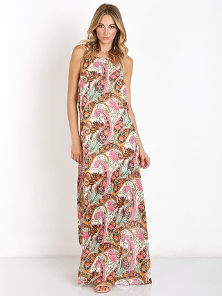 Model in palace paisley Show Me Your Mumu Billie Maxi Dress