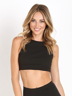 Show Me Your Mumu Crop Crop Black Solid