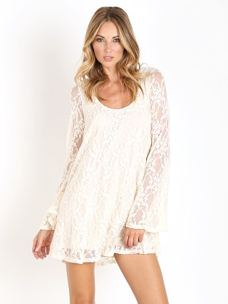 Show Me Your Mumu Fannie Flow Dress Cream