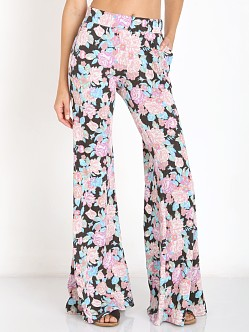 Show Me Your Mumu Fiesta Flare Pants Bundle of Blooms