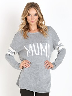 Show Me Your Mumu Varsity Sweater Mumu Stripe