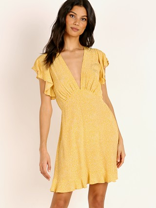 Auguste the Label Tear Drop Sunday Mini Dress Golden Sand