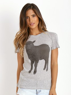 WILDFOX Black Sheep Tourist Crew Vintage Lace
