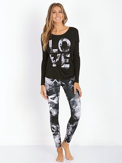 Harvest Love Long Sleeve Black