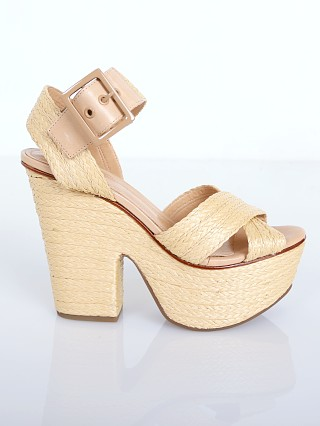 Schutz Eddyth Wedge Natural