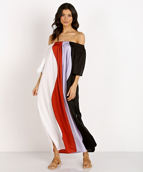 Mara Hoffman Sala Dress Dune Color Block