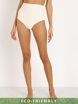 Mara Hoffman Lydia Bikini Bottom Cream Riley Stripe