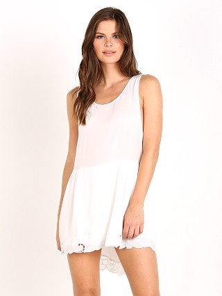 Auguste the Label Open Road Embroidery Play Dress White