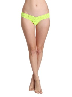 Hanky Panky Low Rise Thong Apple Zig