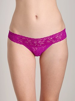 Hanky Panky Low Rise Thong Hot Fuchsia