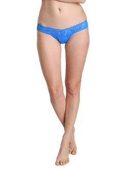 Hanky Panky Low Rise Thong Bali Blue
