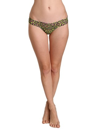 Hanky Panky Wild Cat Low Rise Thong Apple Zing